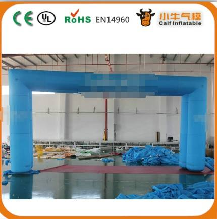 Customized advertising inflatable arch for promational