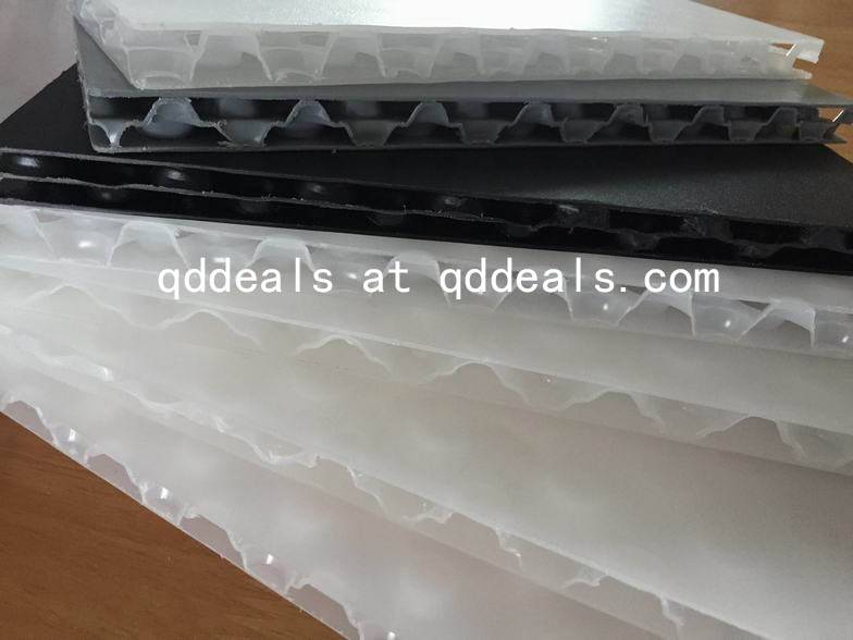 Bubble PP Corrugated Plastic Sheet