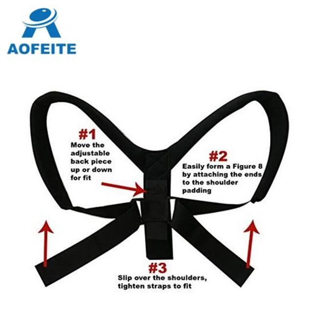 Adjustable posture corrector clavicle support brace high quality