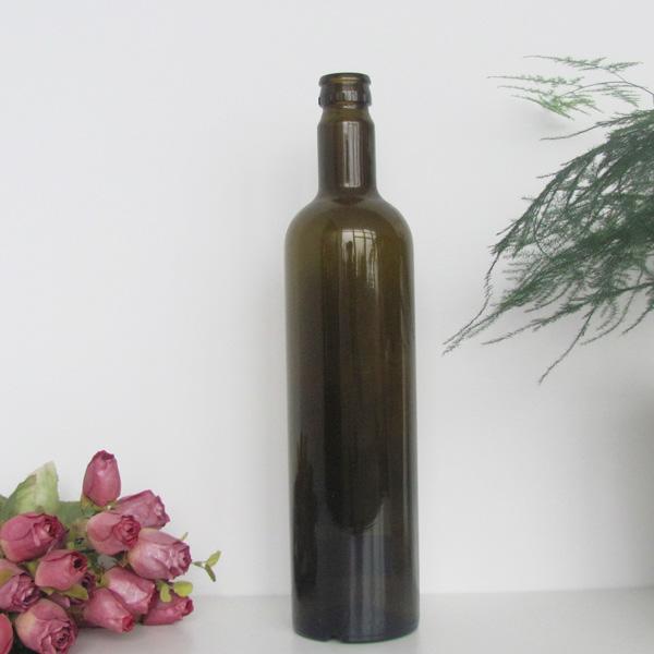 Glass Material Olive Oil Bottle