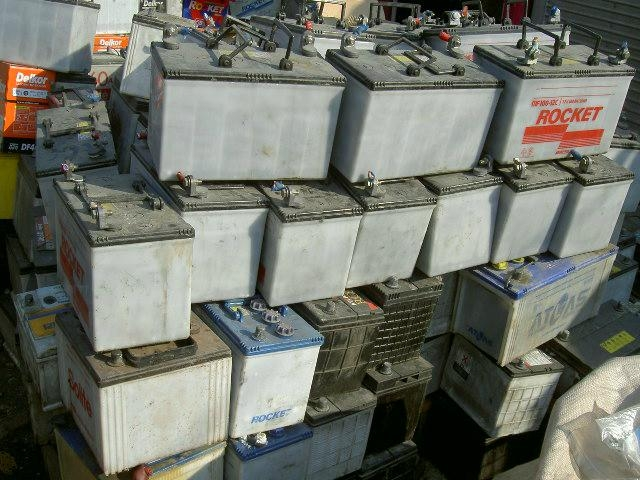 Dry Drained Lead Acid Car Battery Scrap, ISRI RAINS