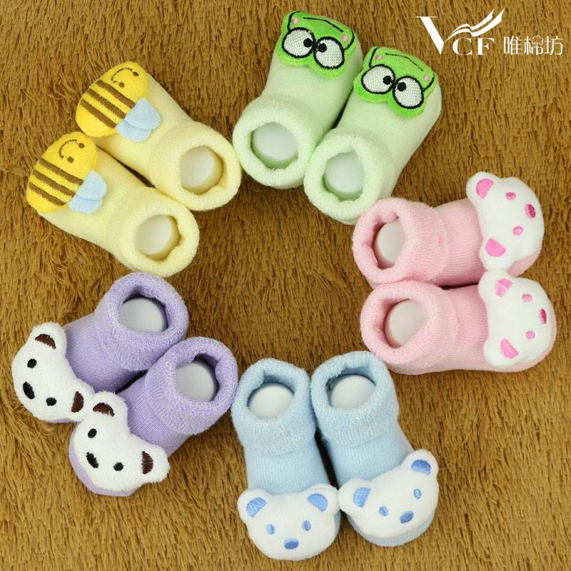 Cartoon Baby Socks