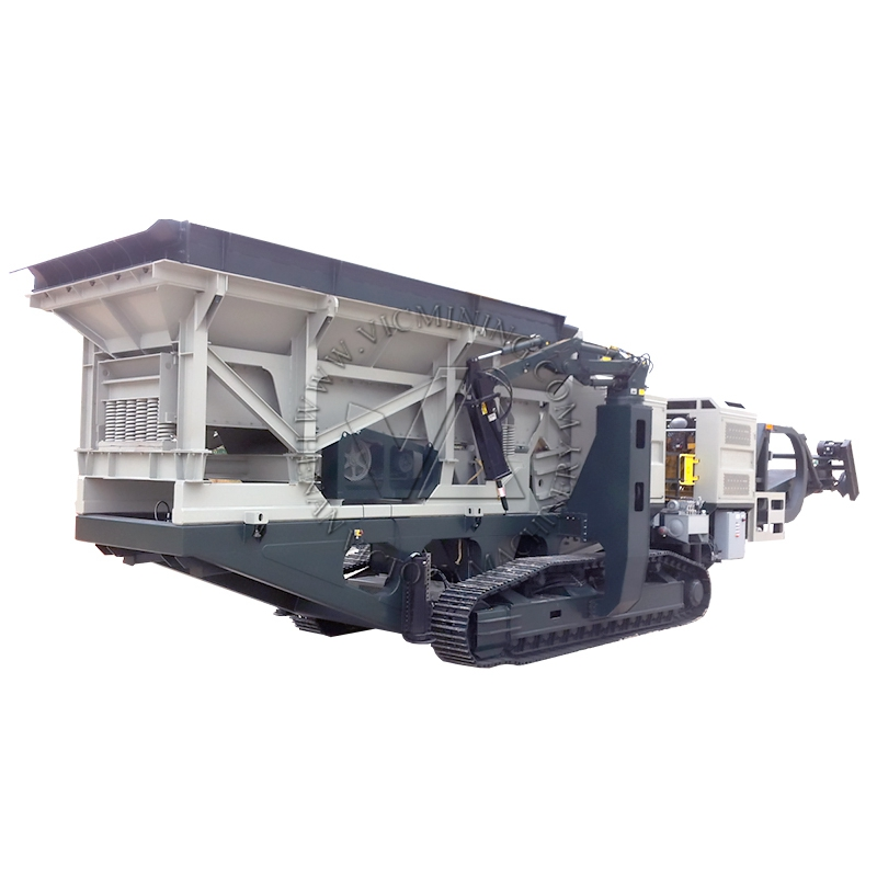 mobile crushing station for granite processing projects working in different places