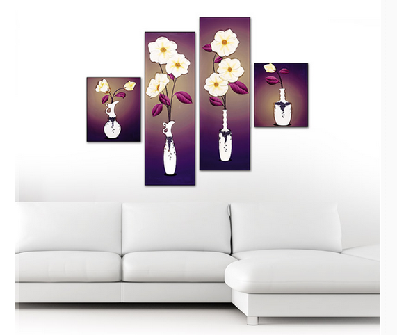 most fashion decoration painting resin material for home decor