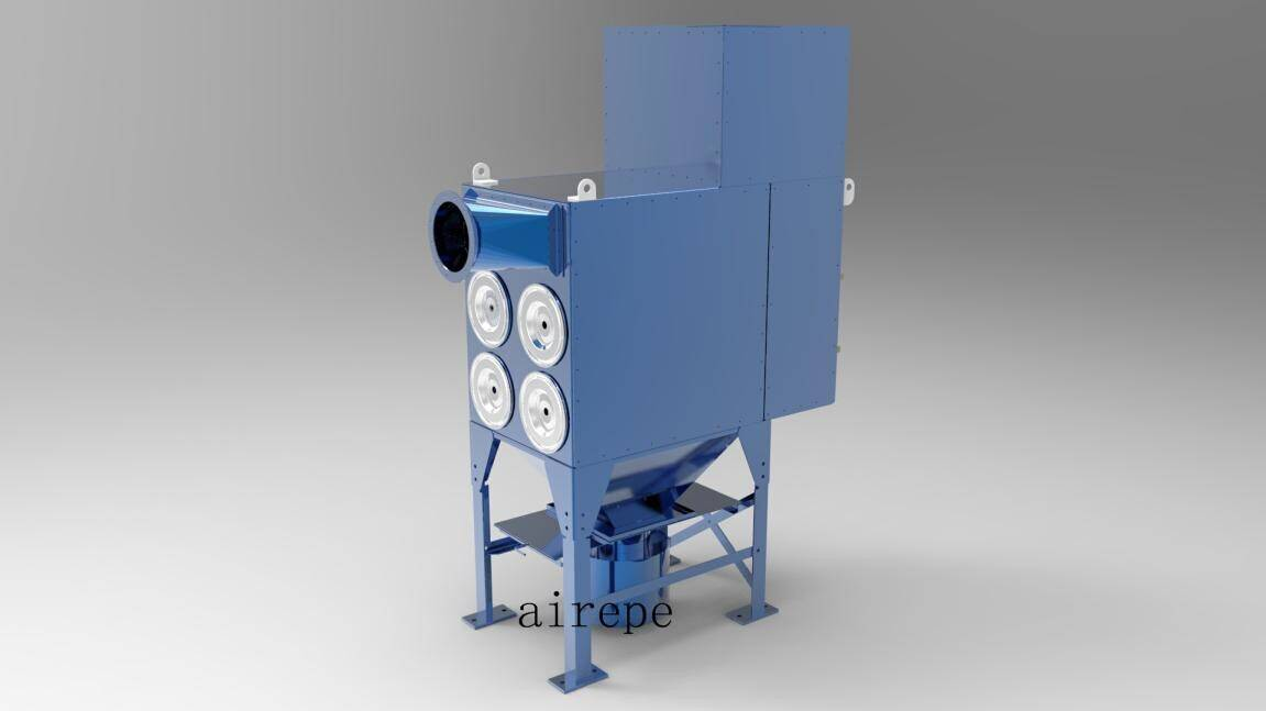 Central dust collection system