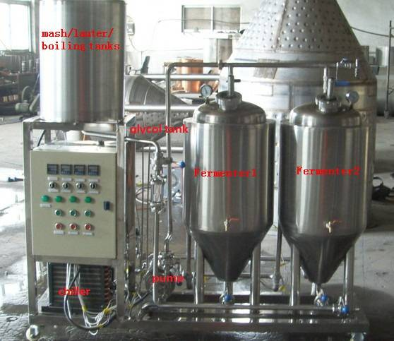 mini pub brewery equipment for export