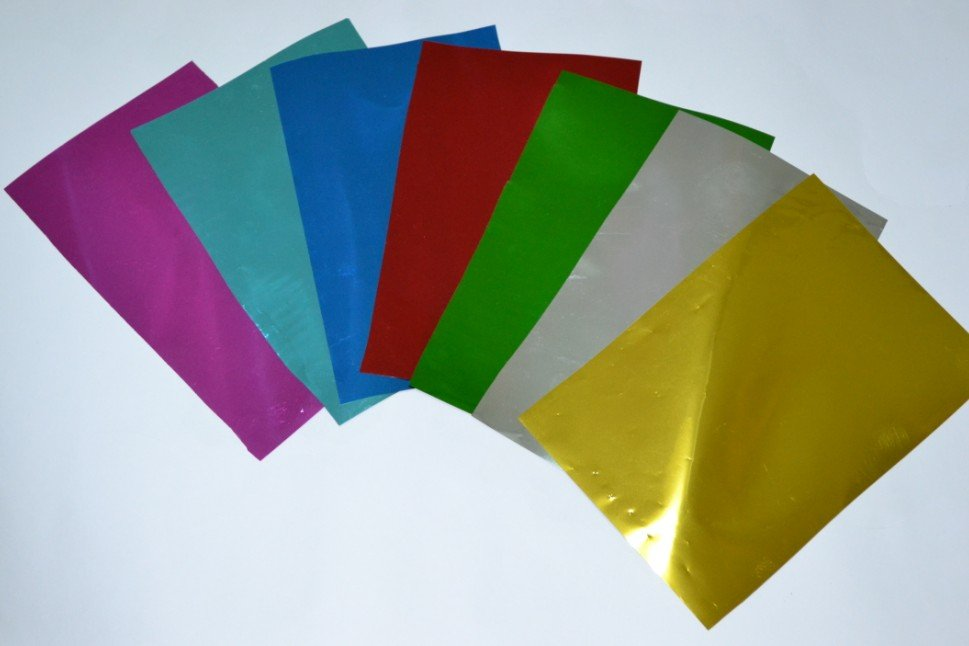 E-friendly transfer paper printable holographic paper for UV printing