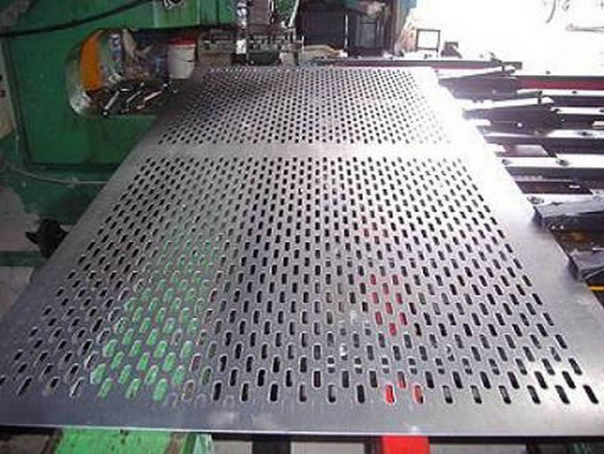 High Quality Galvanized Perforated Metal Piece Hole Punching Wire Mesh