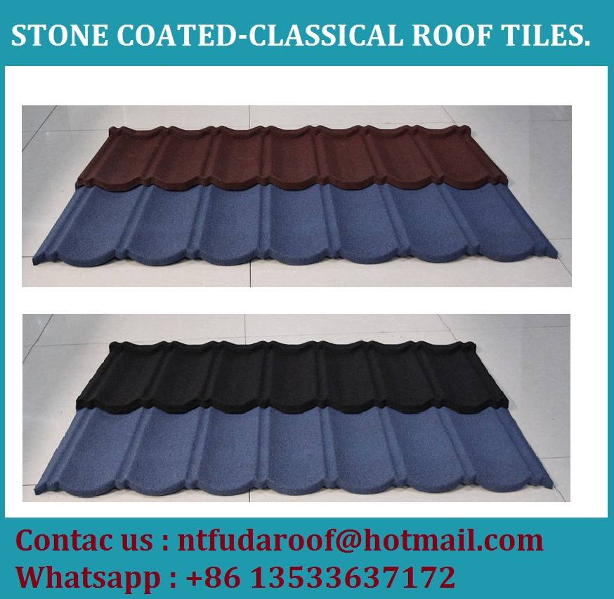 Stone Coated Classical Roof Tiles- 50 Year LifeLive