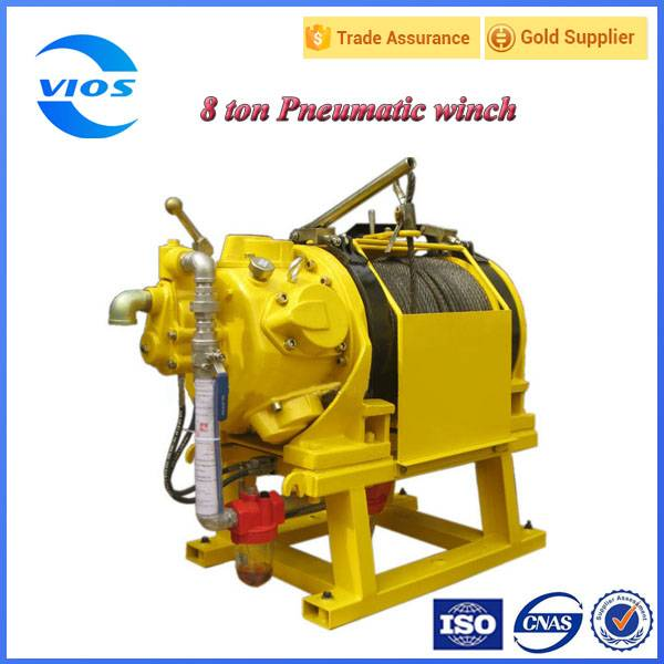Air winch for oilfield