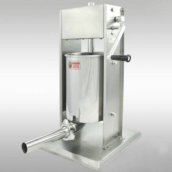 12L vertical stainless steel manual sausage stuffer machine