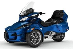 2012 Can-Am Spyder RT Audio & Convenience 3 wheels Motorcycle