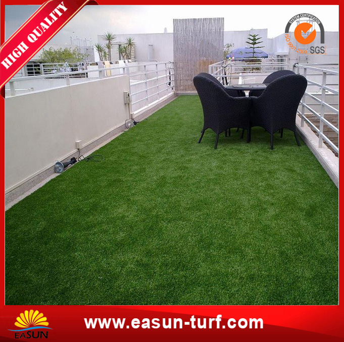 Waterproof Landscaping synthetic fake grass for garden and roof-AL