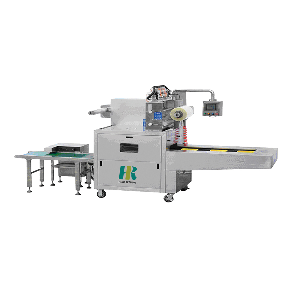 Electric food vegetable packaging machine