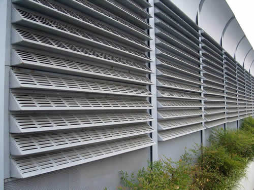 Perforated Louvers
