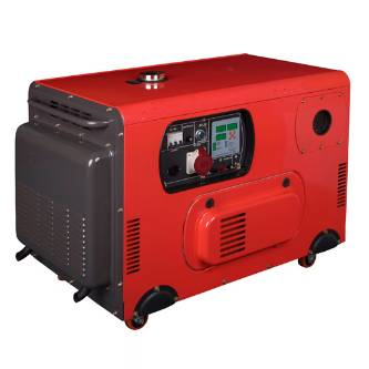 factory supplied 9KVA-15KVA silent air-cooled diesel generator