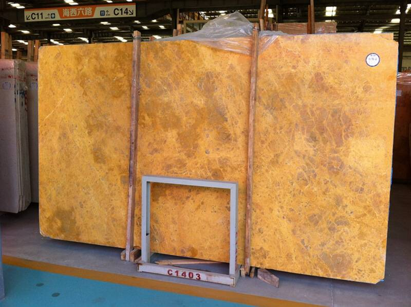 Yellow Marble Slab - Golden Marble