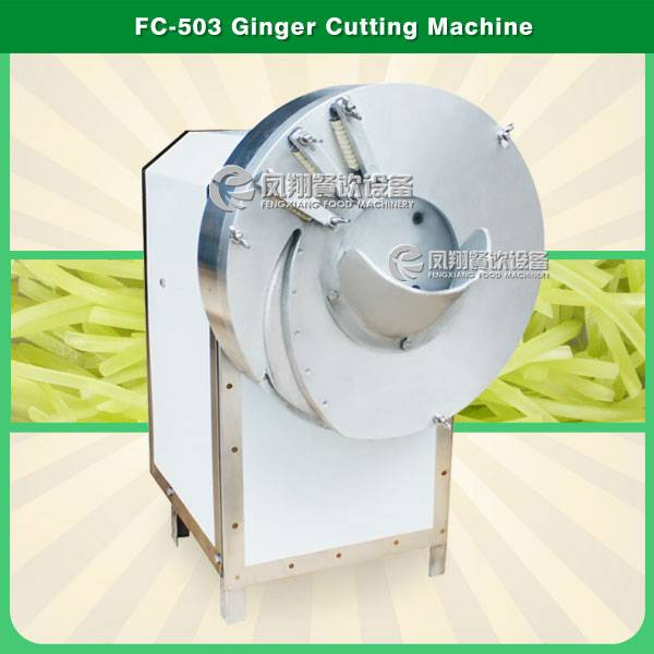 FC-503 ginger slicer bamboo shoot shredding machine