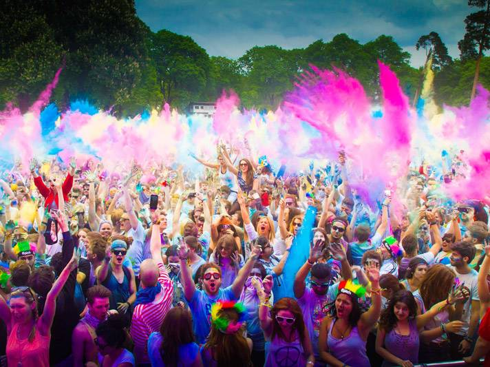 Natural Non-toxic Colors Run Fun Holi Powder