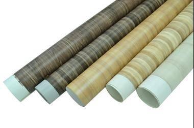 matt wood grain PVC film for furniture / construction decorative lamination