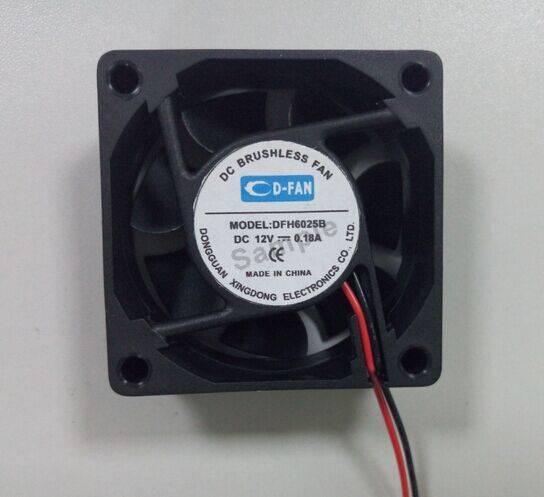 60x60x25mm 6025 60mm 6cm 12v 24v dc brushless cooling fan