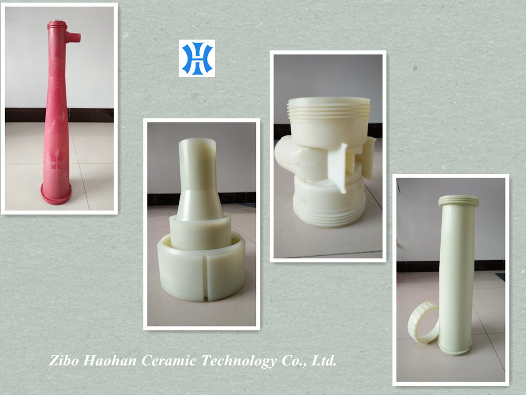 China made Andritz AHLcleaner SC133/TC133 PE Classifier Pipe and Cone