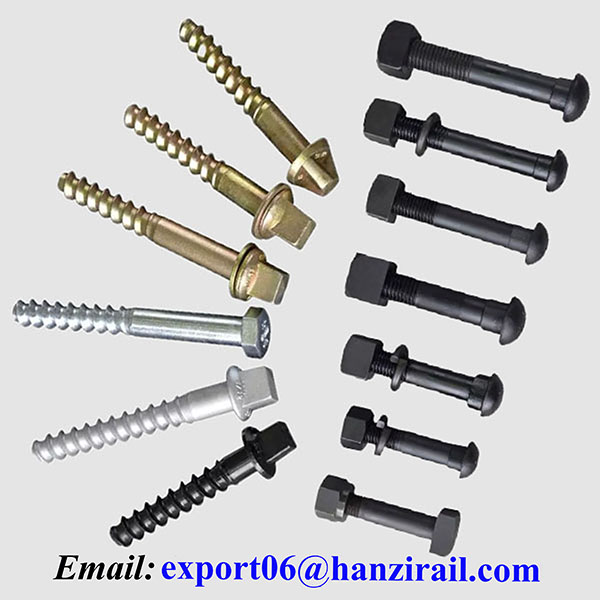 Railway Rail Screw Spikes