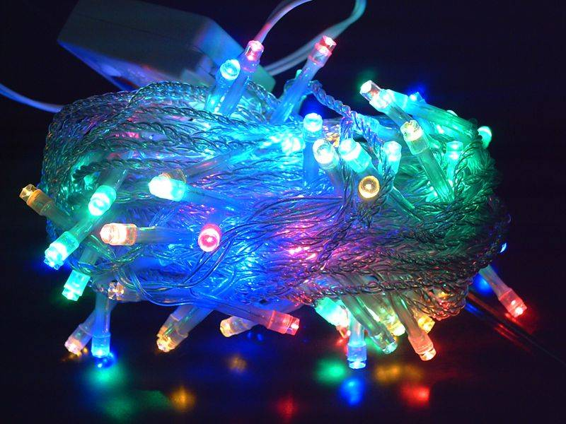 connectable 10meters 100leds holiday decoration led fairy string light