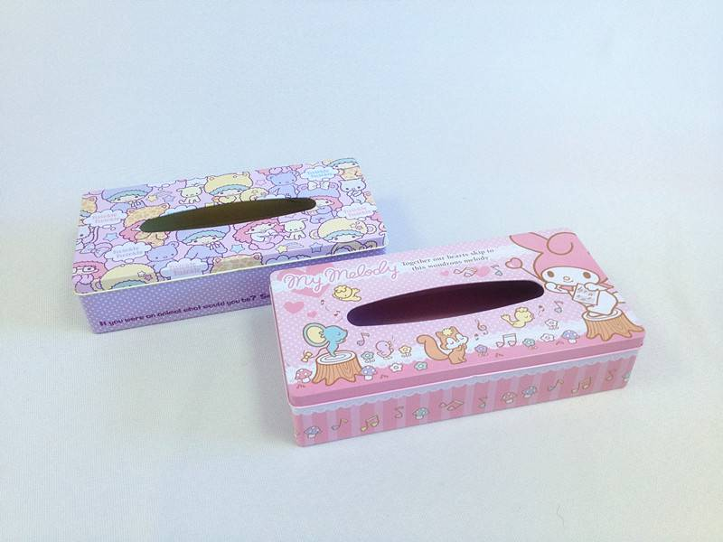 Carton tissue box/ tin tissue box