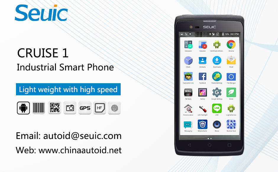 Rugged Handheld PDA Smartphone Android for Barcode Scanner-CRUISE 1