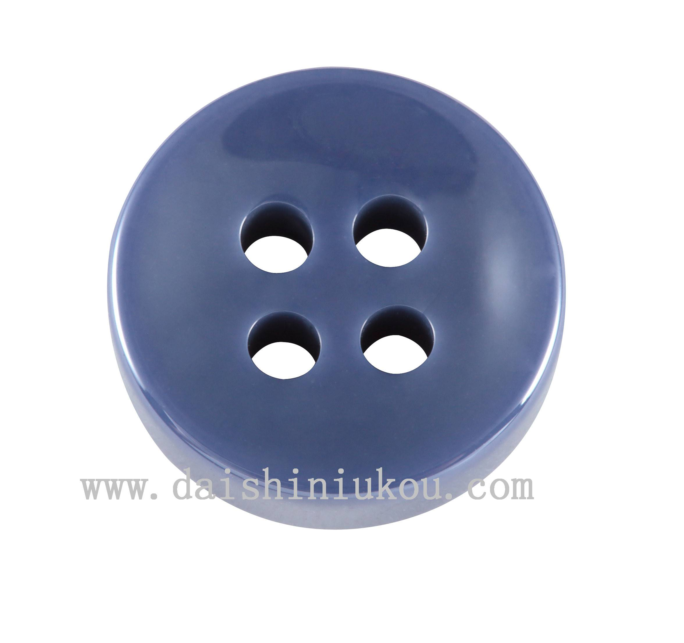 ceramic/blue grey/polished buttons