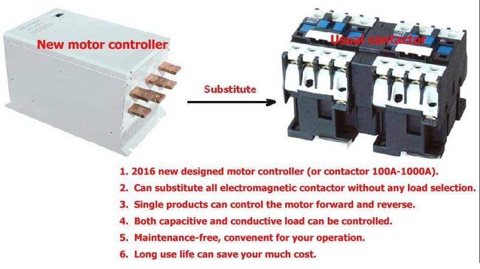 new types of maintenance-free,mechanical interlock contactor