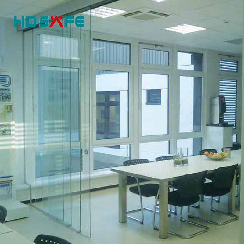 Exterior Frameless Glass Sliding Doors For Hotel And Office Foshan