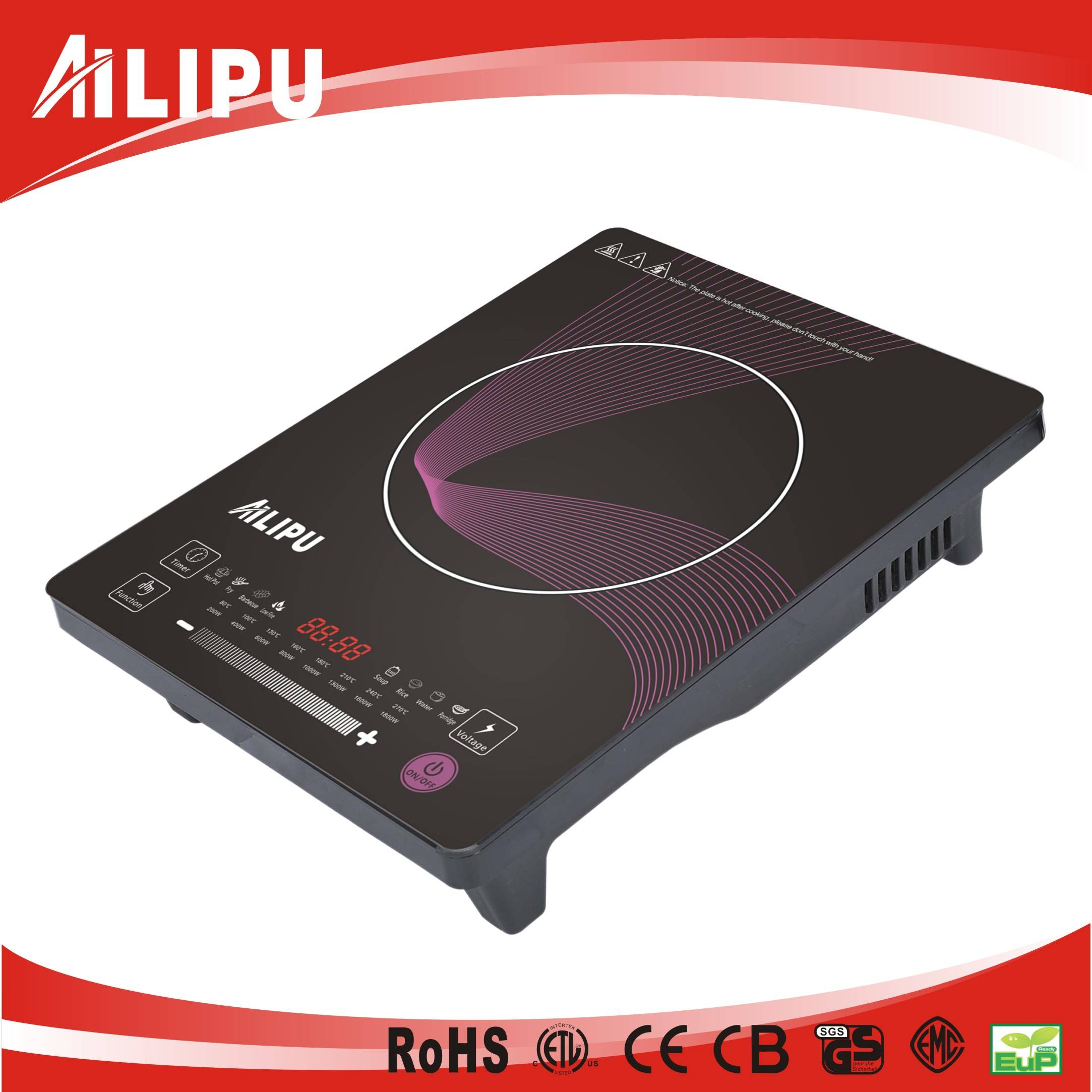 CB/CE Certification Slide Touch Control Induction Cooktop SM-A32