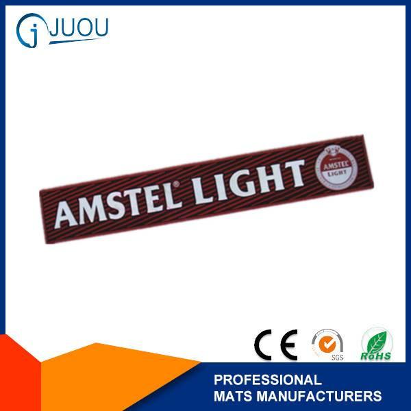 AMSTEL LIGHT PVC branded logo bar mats