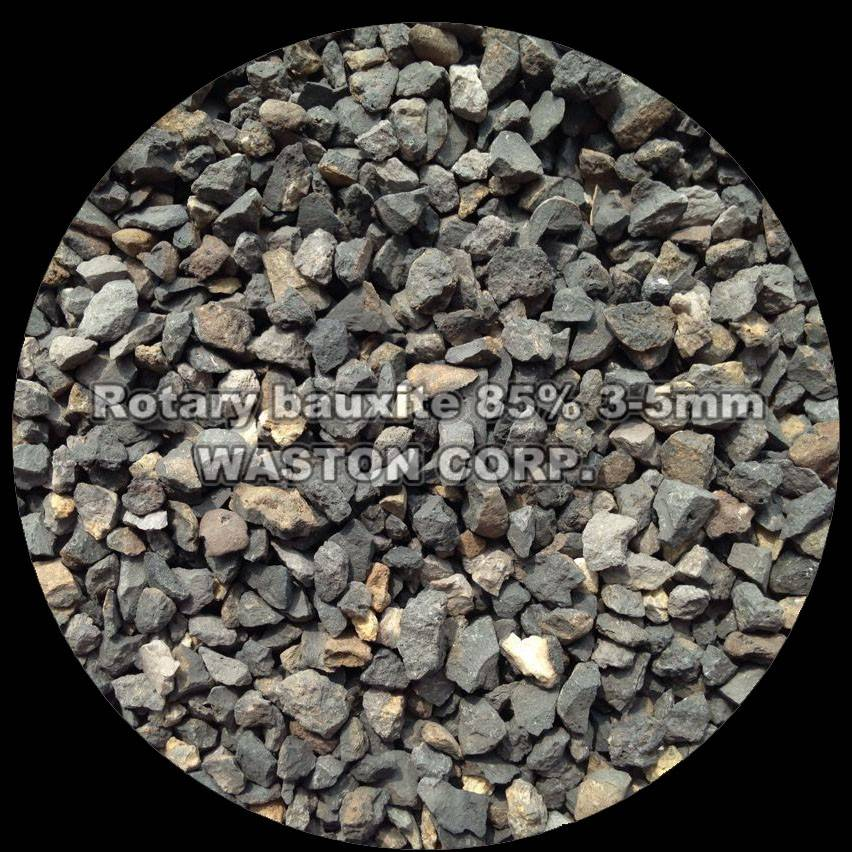 Rotary bauxite 85% 3-5mm