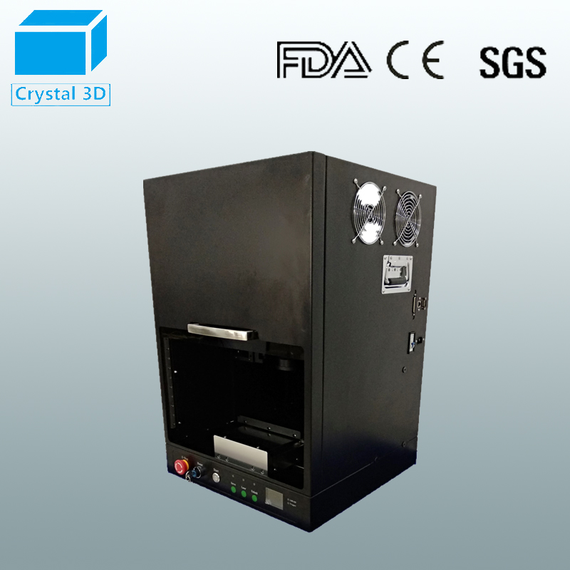2D 3D Crystal Glass Marking Inner Printing Laser Engraving Machine