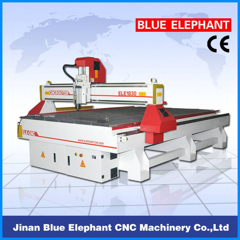 MDF kitchen cabinet closet cnc router/ South Africa market 1830 cnc cutting router for sale
