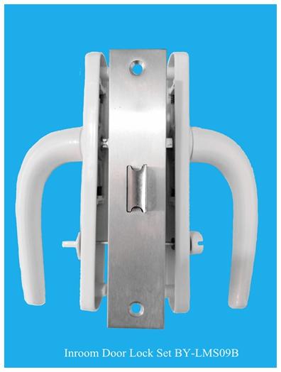Complete set door lock and door handle