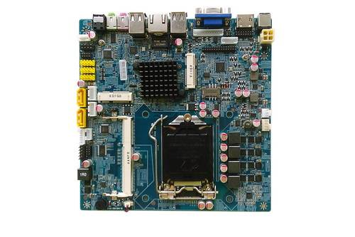 2043-4 ITX-HCM61D11G,Intel core i7,core i5,core i3 Processors Mini ITX Intel motherboard