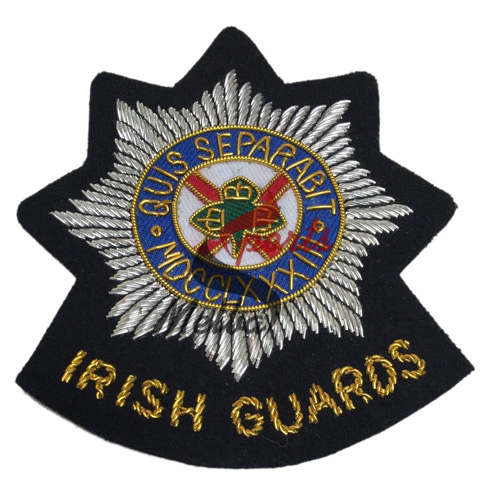 Bullion Embroidered Army Badge