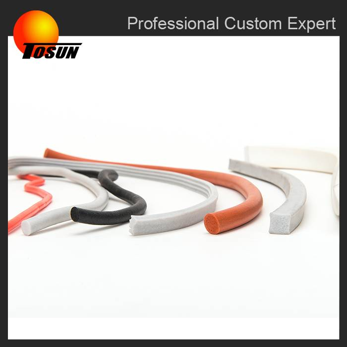 2016 hot sale using in home appliance with high performance foam silicone rubber extrusion