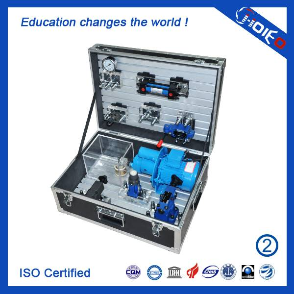 Portable Basic Hydraulics Training Box,technical educational trainer model,vocational training kits,