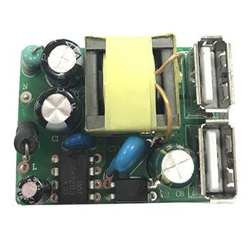 AC-DC 10W poen frame power supply DK1203 5V2A 2USB