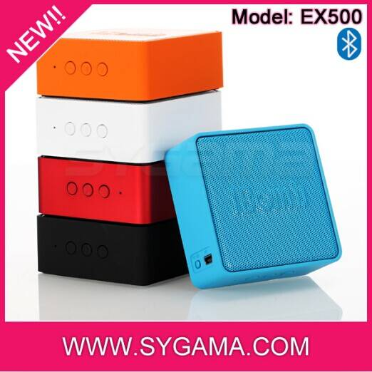 High quality promotional gift IBomb 3W mini bluetooth speaker