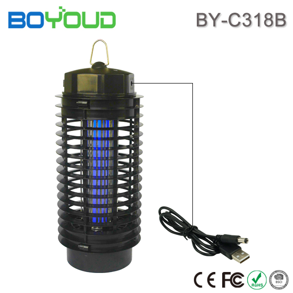 Boyoud rechargeable USB powered mosquito insect killer lamp
