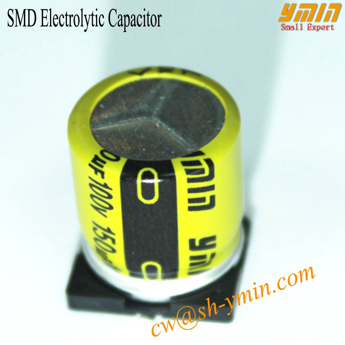 SMD Capacitor Aluminum Electrolytic SMD Capacitor for LED Lighting and General Purpose
