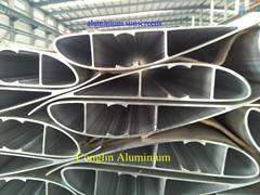extruded aluminium blade for wind power
