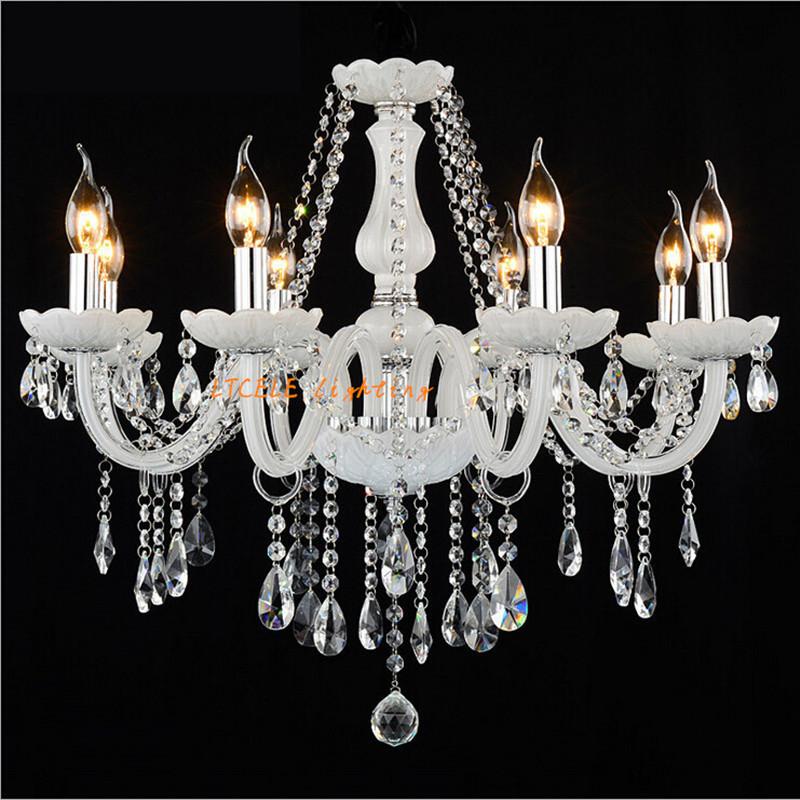 Led Crystal chandelier home lighting luminaire lustres de cristal Modern kitchen Dining room Living