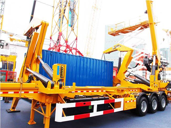 Offer overseas service 20ft 40ft side loader box loader container side lift truck